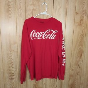 Red Long Sleeve Coca-Cola Shirt
